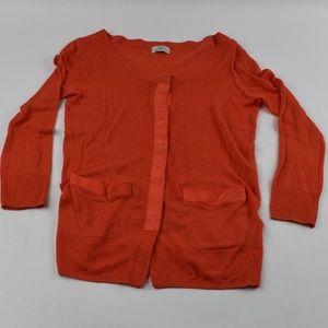 Wallace Womens Sweater Size XS Cardigan Linen